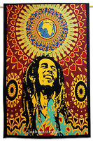 Bob Marley Tapestry Indian Hippie Wall Hanging Bohemian Hippie Twin Home Art