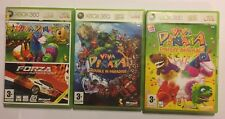 4 XBOX 360 GAMES FORZA MOTORSPORT 2 FM2 +VIVA PINATA +TROUBLE IN PARADISE +PARTY