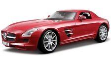 Maisto 1/18 Mercedes SLS AMG Premiere Diecast Red