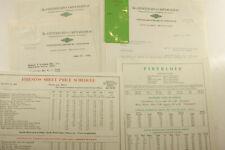 1933 Lamson Goodnow SAMPLE Fiberloid Corp Indian Orchard MA Ephemera P1630C