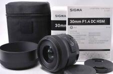 Sigma Standard Lens 30mm F1.4 DC HSM for Pentax Digital SLR Camera Japan New