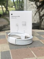 Apple iPhone 11 XS X 8 7 6 5 Genuine OEM Lightning USB Cable Charger 2m - 6FT