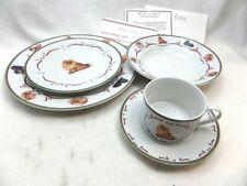New Collectors The Danbury Mint Dishes Set Tan Pomeranian Dinnerware