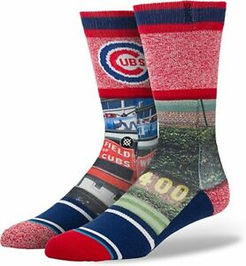 """New with tags Stance Socks Chicago Cubs """"Ivy"""" MLB (L 9-12) Wrigley Field"""