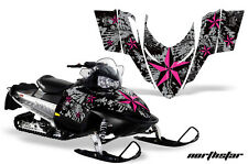 AMR Racing Sled Wrap Polaris Switchback Snowmobile Graphics Kit 06-10 NORTH STAR