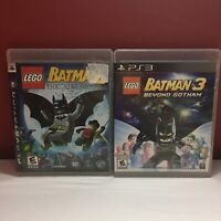LOTLEGO BATMAN 1 AND 3 Playstation 3 PS3 Game - Complete S1