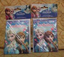 Frozen Party Invitation Cards Set of 16