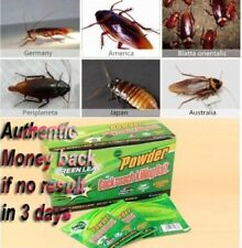 10pc!Powder Cockroach Killing Bait Roach Killer-Effective Miraculous Insecticide
