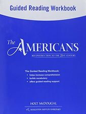 The Americans: Guided Reading Workbook Reconstruct