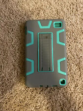 Amazon fire 7 Tablet  Protective Case Tiffany Blue