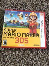 Super Mario Maker (Nintendo 3DS) XL Game