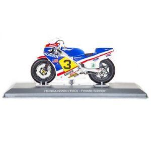 Honda NS500 Freddie Spencer 1983 1:18 Ixo Salvat Diecast Moto GP