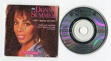 Donna Summer 3-INCH-cd-maxi I DON'T WANNA GET HURT © 1989 German-3-tr 257 565-2