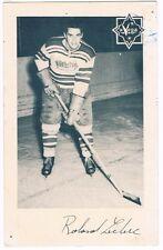 1950's Quebec Aces Roland Leclerc Photo