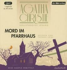 "Agatha Christie – Die vollständige Lesung ""Mord im Pfarrhaus"" –mp3-CD NEU"