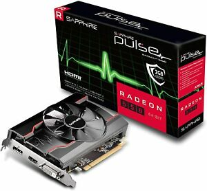 SAPPHIRE PULSE RADEON RX 550 2GB GDDR5 GRAPHICS CARD Graphics Card 11268-21-20G