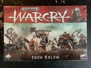 Warhammer AoS Warcry Iron Golem NIB