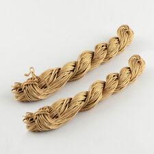 LOT de 25m FIL NYLON CORDON tressé SABLE CAMEL 1mm BRACELETS SHAMBALLA perles