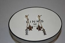 GENUINE LINKS OF LONDON STERLING SILVER CHILDREN;S BUNNY AND BEE DROP EARRINGS