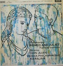 VIENNA PHILHARMONIC  ORCHESTRA - KARAJAN - ROMEO AND JULIET / DON JUAN - LP