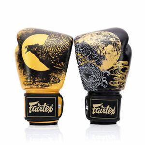 Fairtex BGV26 Harmony Six Leather Boxing Gloves Muay Thai Kick Sparring