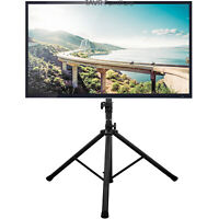 "Flat Screen TV Tripod Floor Stand with Mount for 32""-70"" Flat Screens TVs"