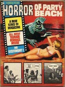 Famous Films #1-1964 vg 4.0 Fumetti Warren Horror Of Party Beach