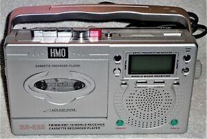 kleines Transistorradio mit Cassettenteil, HMO RS-028, anschauen, 1,--