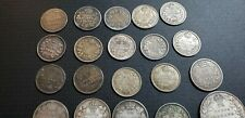 CANADA  Silver Coin lot  1858-1920 5, 10, 25 cents