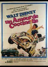 affiche du film UN AMOUR DE COCCINELLE 40x60 cm