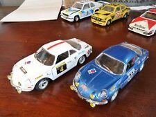 3x Renault Alpine Sammlung 1:24 Bburago fast unbespielter Sammlerzustand no OVP