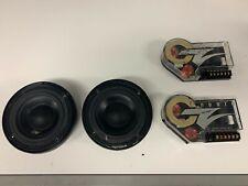 OZ AUDIO 5.25 Braxial Coaxial Component Set - USED - FAIR Condition RARE!!