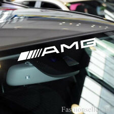 AMG Front/Rear Windshield Decal Vinyl Car Stickers for Mercedes-benz Auto Window