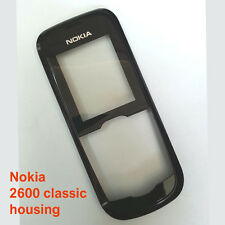 100% Genuine Nokia 2600 classic 2600c Front Fascia Housing + Screen Lens panel