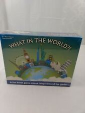 What in The World.?! A Fun Trivia Game About Things Around The Globe Board Game