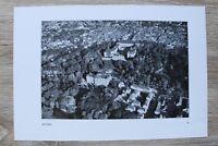 Blatt Luftbild 1930er Gotha Ortsansicht Häuser Straßen Schloss Architektur +++