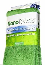NEW 4 Genuine Nano Towels Best Fabric Technology Cleans Safe Economical GREEN