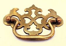"Antique Hardware Brass Chippendale Drawer Pull Handle...  2 1/2"" centers"