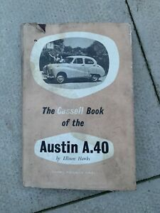 THE CASSELL BOOK OF THE AUSTIN A.40 BY ELLISON HAWKS MANUAL