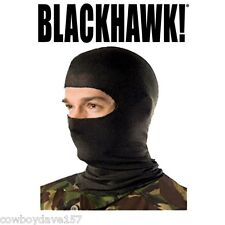 Blackhawk Balaclava Lightweight with Nomex Black 333005BK  Authentic Blackhawk