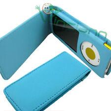 Custodia eco pelle Azzurra per iPod Nano 5G + Laccetto