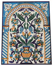 Fliesenbild Keramikfliesen Orientalisch Handbemalt Wandfliesen Mediterran 12 19