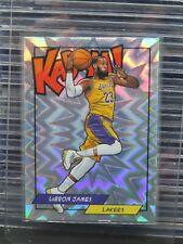 2018 Panini LeBron James Kaboom! SP #K-LBJ Lakers O50