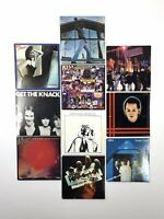 Vintage CHU-BOPS Bubble Gum Mini Records Lot of 10 - Kiss Judas Priest ABBA