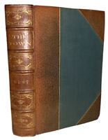 1893, LONDON, THE TOWN, by LEIGH HUNT, ST. PAUL'S TO ST. JAMES'S, LEATHER