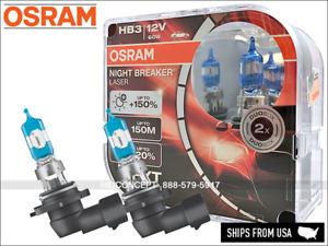 NEW! HB3 9005 OSRAM Night Breaker LASER (NBL) Halogen Headlight Bulbs 9005NL