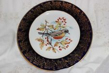 Vintage WEATHERBY FALCON WARE Durability Dîner Plaque Pays Bird Golden Finch