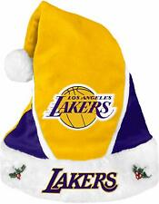 NBA Los Angeles Lakers Holiday Christmas Santa Hat