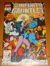 INFINITY GAUNTLET #6 MARVEL COMICS THANOS AVENGERS