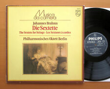 Philips 6570 570 Brahms Sextets For Strings Berlin Philharmonic Octet 1966 NM/EX